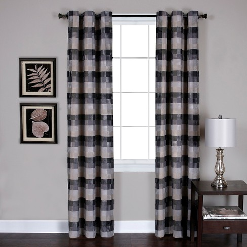 Curtain Panels Achim BLK - image 1 of 1