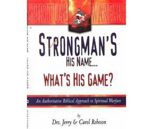 Strongman's His Name...What's His Game? (Paperback) (Jerry Robeson & Carol Robeson) - image 1 of 1