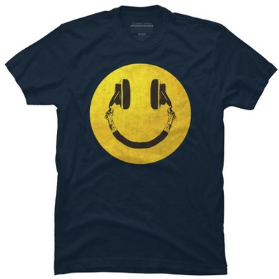 music smile Mens Graphic T-Shirt - Design By Humans