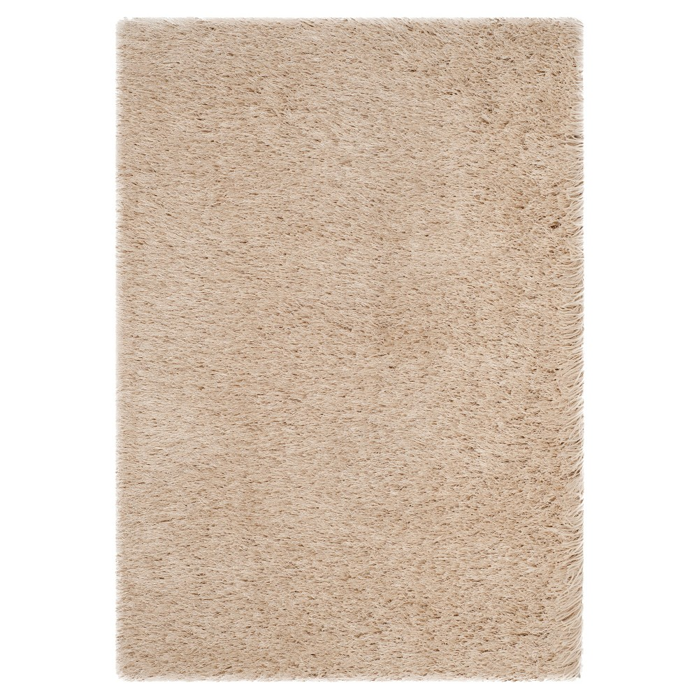 Champagne (Beige) Solid Tufted Accent Rug - (2'x3') - Safavieh