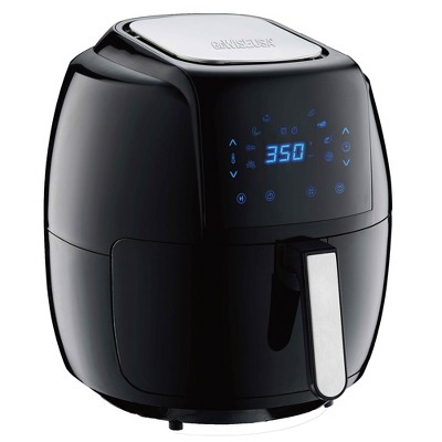 GoWISE GW22931 7-Quart 8-in-1 Countertop Digital Air Fryer with 50 Recipe Book, Black