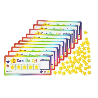 Kenson Kids Token Boards with Stars Classroom Pack