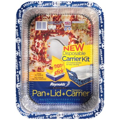 Reynolds® Bakeware Disposable Pan with Carrier