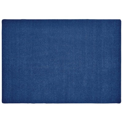 6'x9' Rectangle Woven Solid Accent Rug Blue - Carpets For Kids