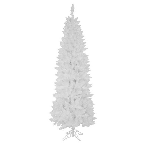 6 ft Unlit Sparkle White Pencil Artificial Christmas Tree - image 1 of 1