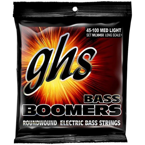 GHS Boomers Long Scale Plus Medium Light Bass Guitar Strings - image 1 of 1