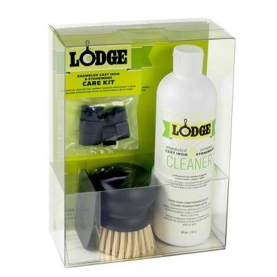 Lodge Enameled Cast Iron and Stoneware Care Kit