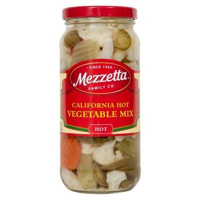 Mezzetta Hot Veggie Mix - 16oz