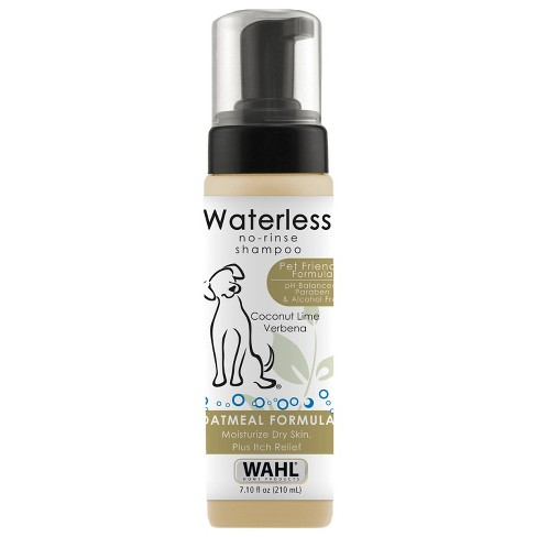 Wahl No-Rinse Waterless Shampoo Oatmeal Formula Coconut Lime - 7.1oz - image 1 of 4
