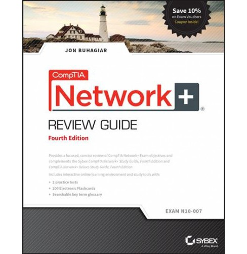 CompTIA Network+ Review Guide : Exam N10-007 -  by Jon Buhagiar (Paperback) - image 1 of 1