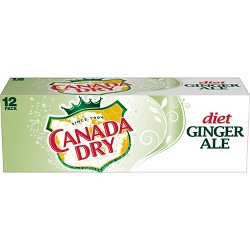Diet Canada Dry Ginger Ale - 12pk/12 fl oz Cans