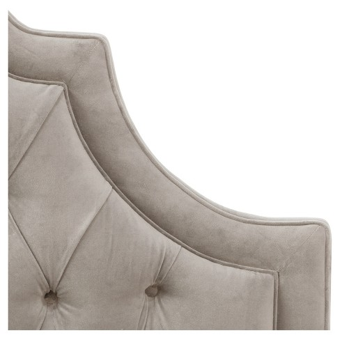 41efbe31ce5 Bella High Arch Tufted Bed - King - Regal Silver Gray - Skyline Furniture®    Target