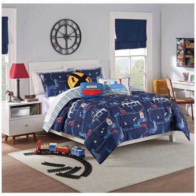 All Aboard Comforter Set - Waverly Kids