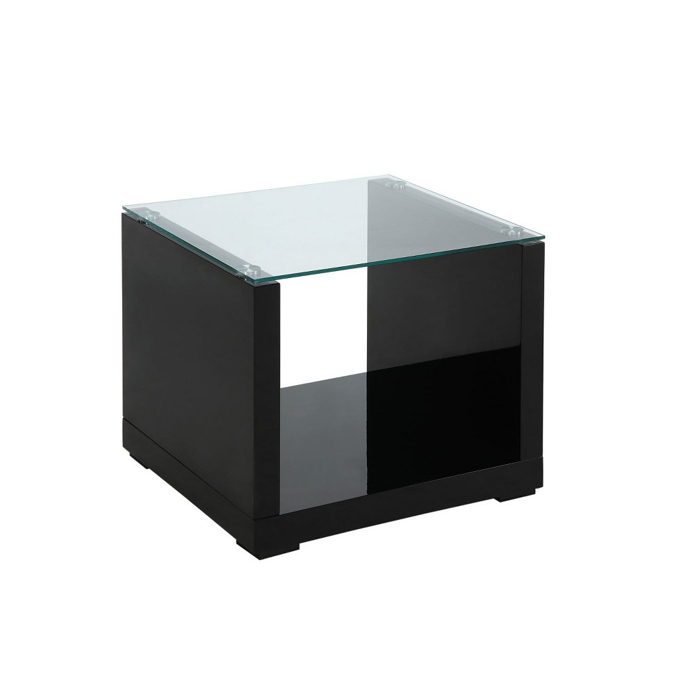 ioHomes End Table Galaxy Black