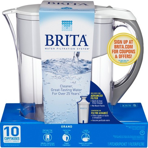 026a42a146b Brita Grand 10 Cup Water Pitcher   Target