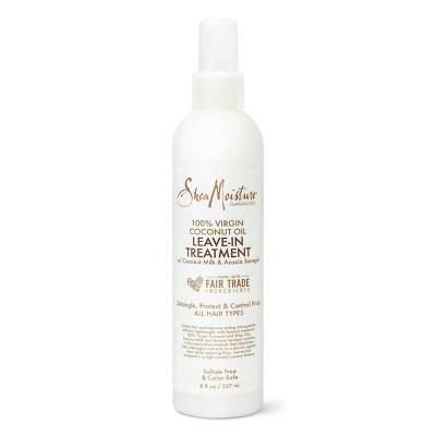 SheaMoisture 100% Virgin Coconut Oil Leave In Conditioner - 8 fl oz