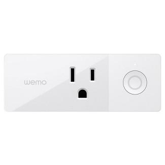 WEMO Mini Smart Outlet Plug Wi-Fi Enabled - White (F7C063)