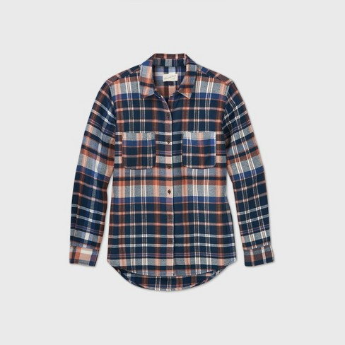 Women's Long Sleeve Button-Down Flannel Shirt - Universal Thread™ - image 1 of 2