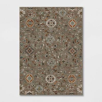 Ornate Woven Area Rug Gray - Threshold™