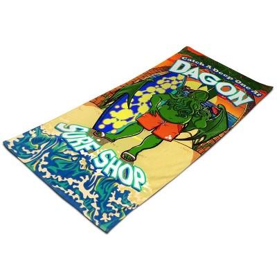 "Toy Vault Cthulhu Dagon Surf Shop 30"" x 70"" Beach Towel"