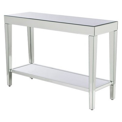 Merveilleux Mirrored Console Table