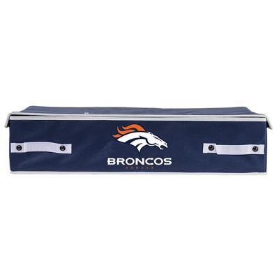 NFL Franklin Sports Denver Broncos Under The Bed Storage Bins