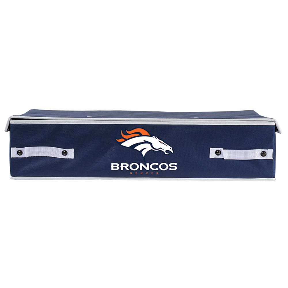 NFL Franklin Sports Denver Broncos Under The Bed Storage Bins - Small, Multicolored