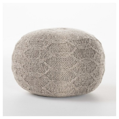 Malibu Moroccan Inspired Pouf Ottoman - Christopher Knight Home