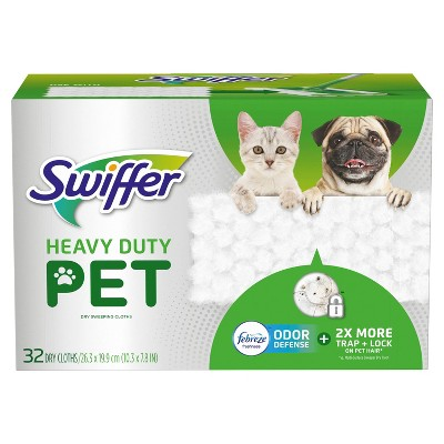 Swiffer Sweeper Heavy Duty Dry Refill Pet - 32ct