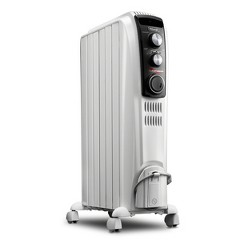 "Delonghi 25"" 1500w High Performance Vented Radiant Electric Floor Indoor Heater"