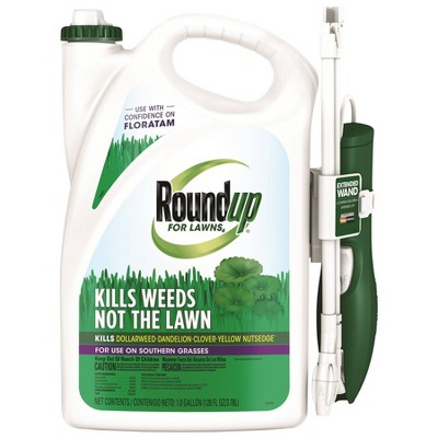 Roundup for Lawns Southern Herbicide With Wand - 1 gal
