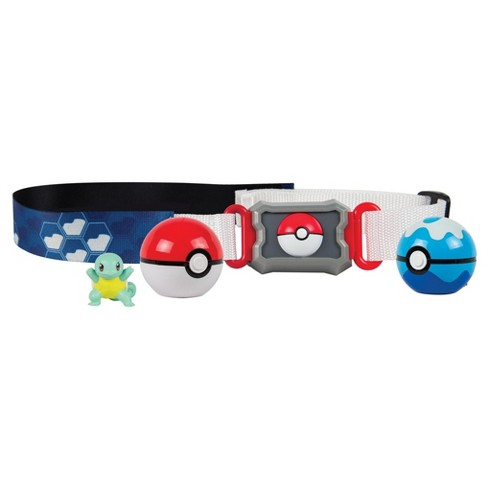 Pokemon Squirtlle Water Type Belt, Poké Ball, Dive Ball - image 1 of 4