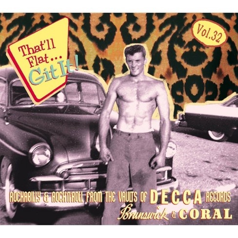 Various - That'll Flat Git It: Vol. 32: Rockabilly And Rock 'N' Roll From The Vaults (CD) - image 1 of 1