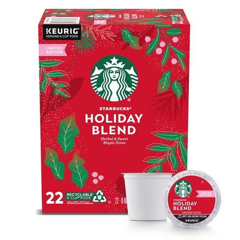 Starbucks Keurig K-Cup Holiday Blend - 22ct/8.9oz - Medium Roast - image 1 of 4