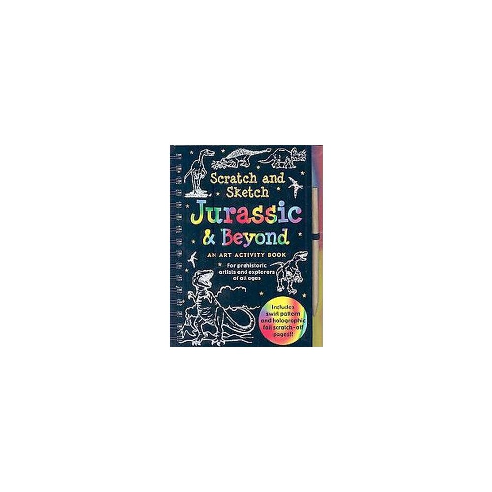 Jurassic and Beyond Scratch and Sketch (Hardcover) (Tom Nemmers)