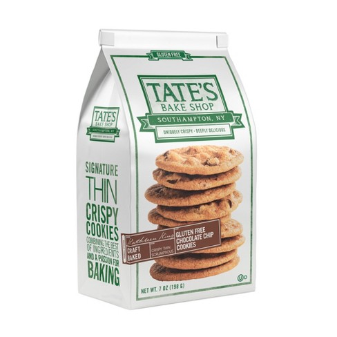 Tate's Bake Shop Gluten Free Chocolate Chip Cookies - 7oz - image 1 of 3
