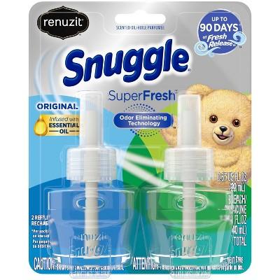 Renuzit Snuggle Scented Oil Plugin Refills SuperFresh Original - 2ct/1.34 fl oz