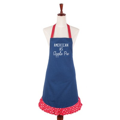 C&F Home American as Apple Pie July 4th Apron