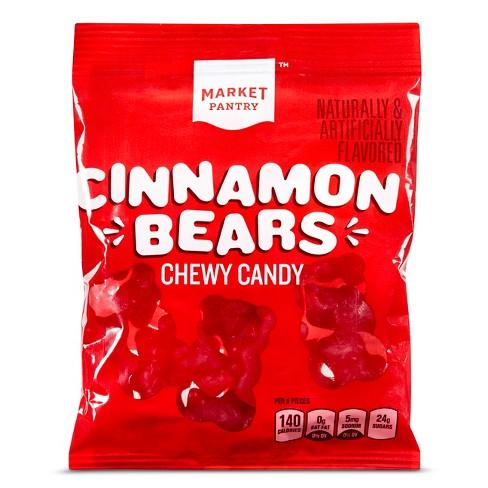 Chewy Cinnamon Bears - 6oz - Market Pantry™ - image 1 of 1