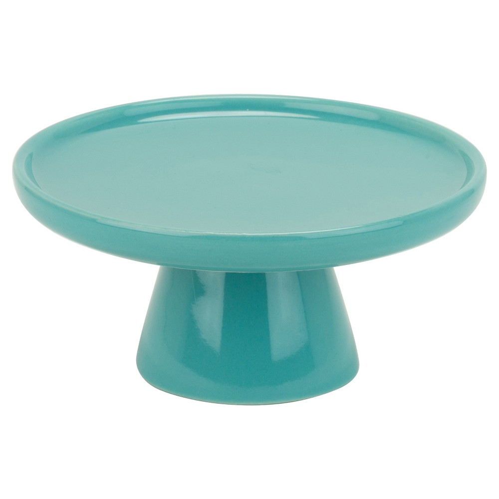 Image of 10 Strawberry Street 4 Cake Stand Set of 4 - Turquoise