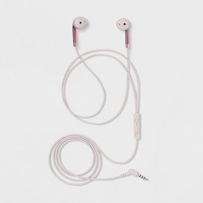 heyday™ Wired Earbuds - Ballet Pink
