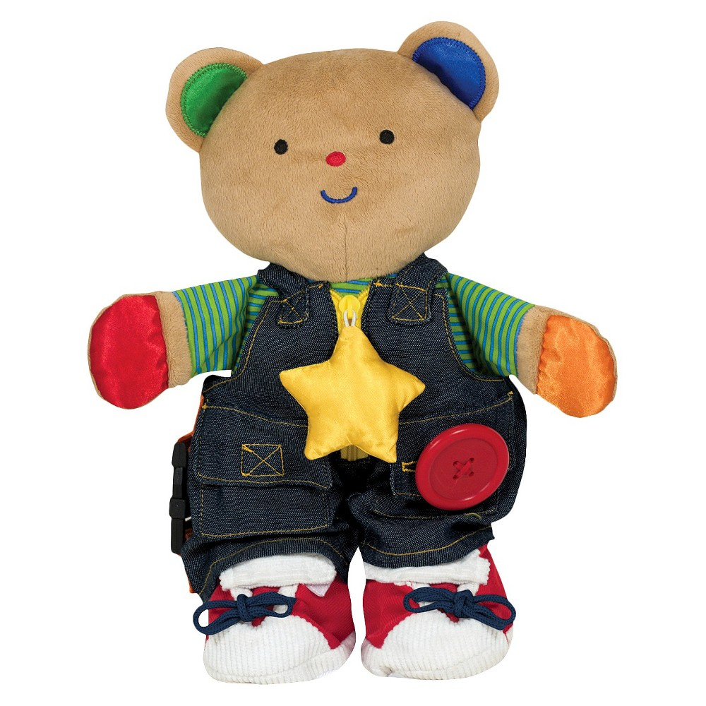 Melissa 38 Doug K 39 S Kids Teddy Wear Stuffed Bear Educational Toy