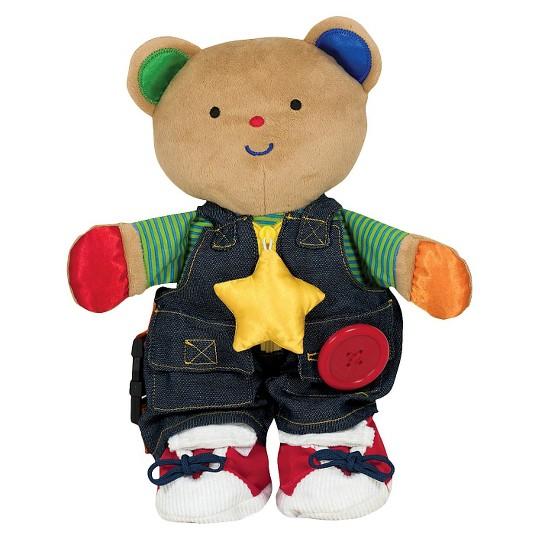 Melissa & Doug K's Kids - Teddy Wear Stuffed Bear Educational Toy image number null