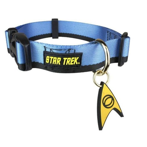 Star Trek Starfleet Blue Uniform Dog Collar - image 1 of 1