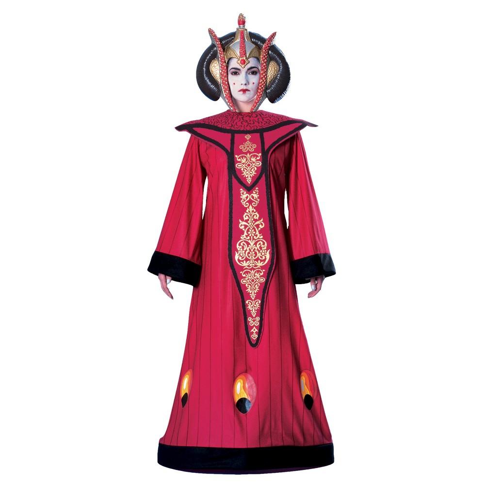 Star Wars Queen Amidala Women's Deluxe Costume, Multicolored