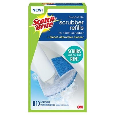 Scotch-Brite Toilet Bowl Cleaner's Disposable Toilet Scrubber Refills - 10pk