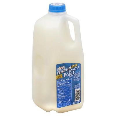 Hiland 1% Milk - 0.5gal
