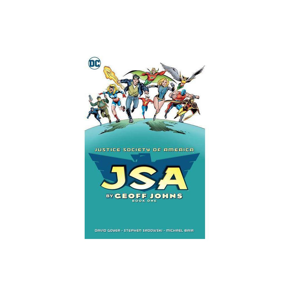Jsa By Geoff Johns Book One By Geoff Johns David S Goyer James A Robinson Paperback