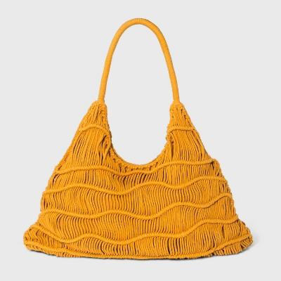 Zig Zag Soft Hobo Handbag - Universal Thread™
