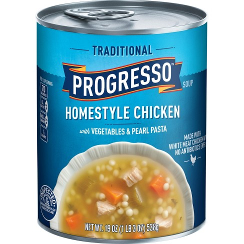 Progresso Homestyle Chicken with Vegetables & Pearl Pasta Soup - 18.5oz - image 1 of 1